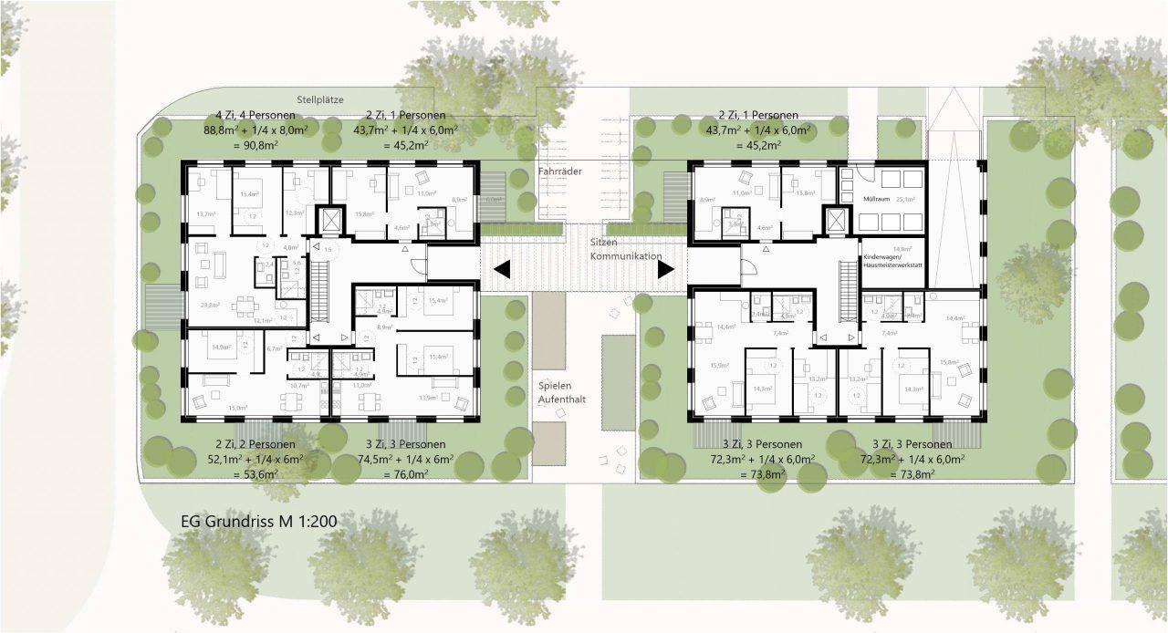 Zillerplus urbane villen paare for Moderne villen grundriss